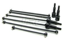 TROPHY Truggy FRONT/REAR/CENTER DRIVE SHAFTS axles universals HPI flux 107018