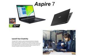 "Acer Aspire 7 Laptop, AMD Ryzen 5 3550H, NVIDIA GeForce GTX1650,15.6"" Full HD"