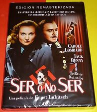 SER O NO SER / TO BE OR NOT TO BE Ernst Lubitsch DVD R2 Precintada