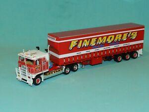 Highway Replicas 1/64 Kenworth Freight Semi. Finemores Transport MiB