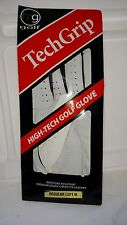 NEW TechGrip mg Golf High Tech Golf GLOVE Regular Mens Left M Cabretta Leather