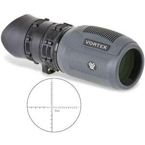 Vortex Solo 8 x 36 R/T Tactical Monocular + Clip, Case & Lanyard MRAD Reticle UK