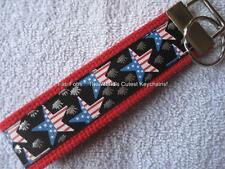 PATRIOTIC STARS/FIREWORKS Key Fobs (really cute keychains)