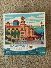 HOMETOWN COLLECTION MEGA PUZZLES 1000 PIECE JIGSAW PUZZLE CHINATOWN NICE SHAPE