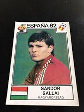 Panini Espana 82 - Sallai