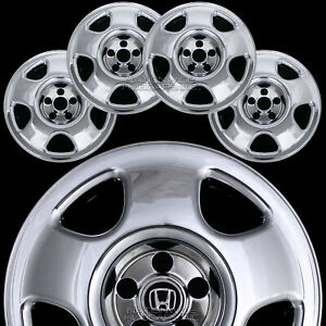 "4 fits Honda CRV 07-12 CHROME 17"" Wheel Skins Hub Caps Tire Rim Covers FREE SHIP"