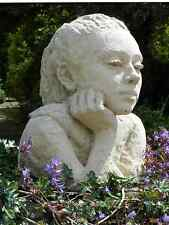 Chloe / Stone Sculpture / Christine Baxter / Garden Decoration