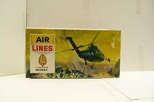 AIR LINES 1/72 WESTLAND WESSEX ANTI SUB AIR RESCUE UNBUILT PLANE MODEL KIT SH1D