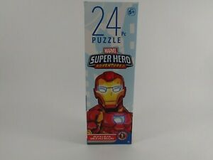 Marvel Superhero Adventures Puzzle 24 Pieces Avengers Spider-Man New Sealed