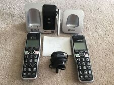 AT&T CL81212 2 handset cordless telephone with caller ID/call waiting #53