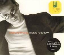 Marc Anthony(CD Single)I Need to Know CD 1-New