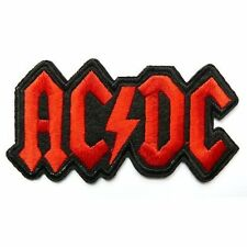 AC DC ACDC Rock Music Band Embroidered Sew on/iron on PATCH/Applique