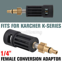 1/4'' Pressure Conversion Washer Adaptor for Karcher K-series Female to Parkside