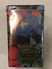 Pokemon EX Deck Box Tin, Magma Vs. Aqua, Promos, Packs And Stickers Inside
