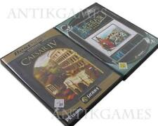 Caesar IV & CAESAR III 3 & 4 (PC, 2006, DVD-Box) en Bundle en allemand
