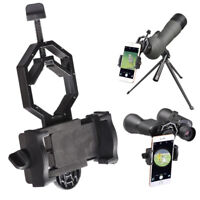 Universal Cell Phone Telescope Adapter Holder Mount Bracket Spotting Scope EWK