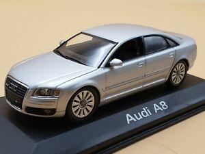 Audi A8 2007 - 1:43 Scale Diecast Model Car By Minichamps