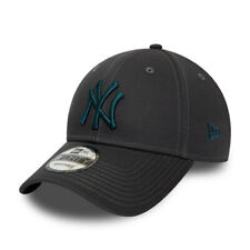 NEW ERA NEW YORK YANKEES BASEBALL CAP.9FORTY MLB GREY COTTON ESSENTIAL HAT S20 5