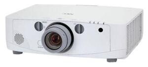 NEC NP-PA500U Full HD 1920x1200 WUXGA 1080p LCD Theater Projector - 5000 Lumens