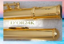 Flauto traverso Oro fino 24 CT Flauti traversi Oro 999,9 Gold Flute Flauta Or IT