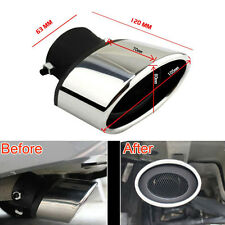 2 Pcs Steel Tail Rear Exhaust Pipe Tip Muffler Tailpipe For Mazda 6 03-2008