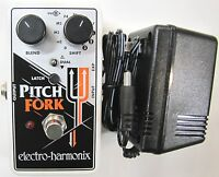Used Electro-Harmonix EHX Pitch Fork Polyphonic Shifter Guitar Pedal! Pitchfork