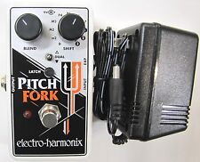 Used Electro-Harmonix EHX Pitch Fork Polyphonic Shifter Guitar Pedal Pitchfork