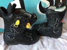 Burton Iroc Snowboard Boots Black Women's SIZE 9 PLEASE READ