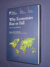 Teaching Co Great Courses DVDs      WHY ECONOMIES RISE or FALL    newest release