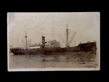 Rppc c1920's S.S. Innoko Ocean Liner Vintage Real Photo Postcard
