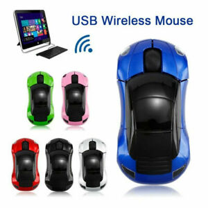 Wireless Optical Mouse Mice 2.4GHz USB For PC Laptop Computer 3D Car Model Mouse