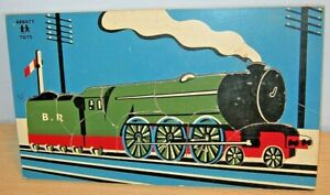 ABBATT TOYS Vintage Tray TRAIN Jigsaw Puzzle - OLD Complete