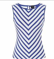 David Lawrence Rayon Striped Clothing for Women