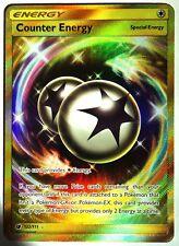 Pokemon, Crimson Invasion, Counter Energy 122/111, New ,Mint,  Secret Rare