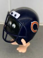 Vintage Chicago Bears NFL Russ  Football Helmet Hopping Wind Up Toy 2""