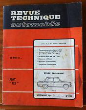 RTA du 9/1968; Fiat 125