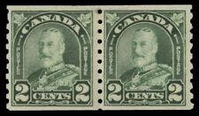 """CANADA 180 - King George V """"Arch"""" Coil Pair (pf15411)"""
