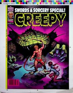 CREEPY #106 Master Romas Kukalis Magazine Cover Proof March 1979  #WA