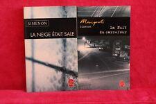 Georges Simenon - Lot de 2 poches - Livre - Occasion