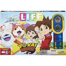 NEW HASBRO GAME OF LIFE:YO-KAI WATCH BOARD GAME B6493