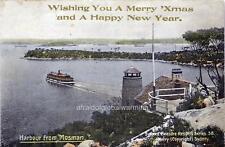 "Photo 1900s Sydney Australia ""Season's Greetings"""