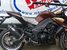 Kawasaki Z1000 + SX 2010-2015 Carbon Tri-oval carbon out Road Legal MTC Exhausts