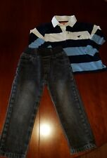 Boys 2T Toddler Outfit 2 Pc Wrangler Shirt Kids Headquarters Pants