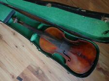 Schöne Violine Geige 4/4 mit Zettel Leopold Widhalm Nürnberg