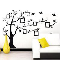 1Pcs Removable Decal Tree Black Wall Vinyl Sticker Room Decor Home DIY Art Mural