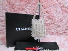 Auth Collector's Piece! 97P Vintage CHANEL Transparent Lucite Beads XS Mini Bag