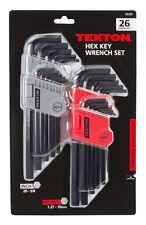 TEKTON Long Arm Hex Key Wrench Set, Inch/Metric, 26-Piece | 25252