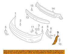 SUBARU OEM 00-04 Outback Front Bumper-Side Bracket Right 57707AE21A