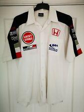 Rare Vintage F1 BAR Honda Team Issue  Shirt 555 World Racing Jenson Button