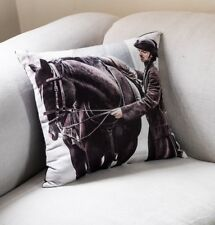 Super Soft Poldark Cushion with pad Featuring Aidan Turner 45x45 cm 18x18 in